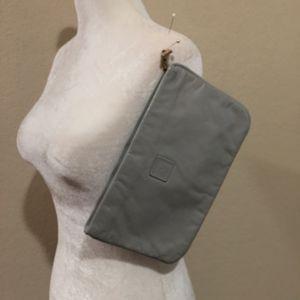 Anne Klein classic leather clutch